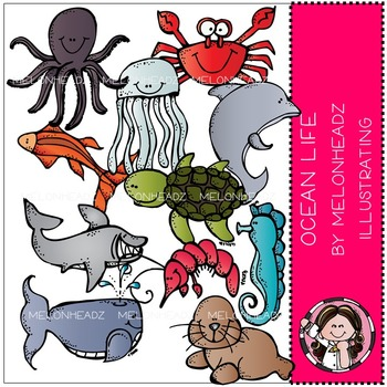 Stephanie's ocean life by Melonheadz COMBO PACK