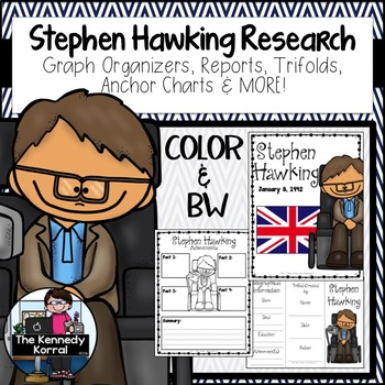 Stephen Hawking {Biography Research Trifold, Scientist}