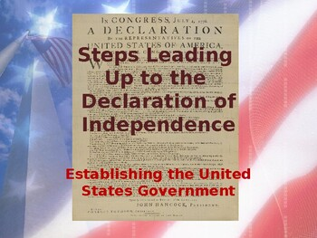 Foundations of Government - Steps Leading to the Declarati
