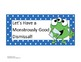 Steps for Dismissal Checklist Poster Monster Polka Dot Theme
