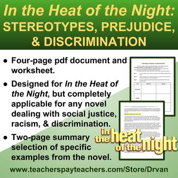 In the Heat of the Night: Stereotypes, Racism & Prejudice