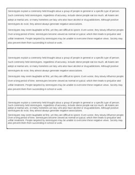 Stereotyping article- Goes with .ppt Stereotyping Power Po