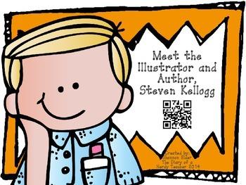 Steven Kellogg QR Readers for Listen to Reading