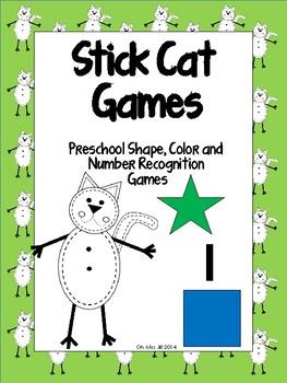 Stick Cat Shape Recognition - A Preschool to Kindergarten Game