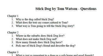 Stick Dog Questions