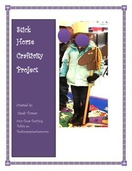 Stick Horse Craft Idea
