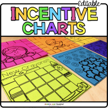 Post It Note Incentive Charts {Print on Cardstock or Post