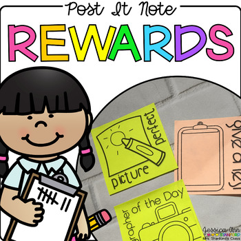 Post It Note Rewards {Print on Cardstock or Post It Notes}