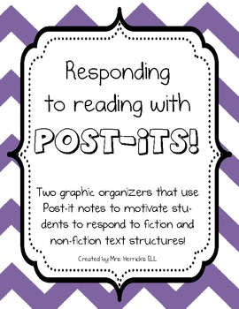 Stick to it! Post-it Sticky Note Organizers for Fiction an