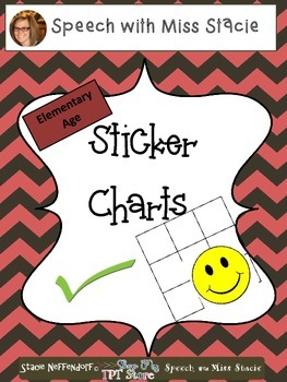 Sticker Charts - Cheveron