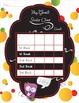 Sticker Charts - Daily and Weekly Goals - Little Monster Theme