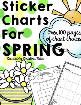 Sticker Charts for Spring