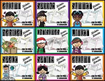 Sticker Stories Through the Year