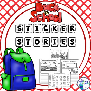 Writing Center - Back to School Sticker Stories