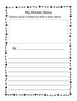Sticker Story Template