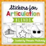 Interactive Articulation Stickers {Blends}
