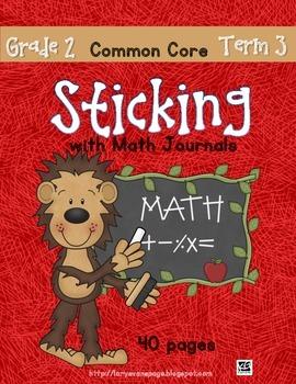 Sticking With Math Journals - Grade 2 -Term 3