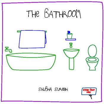 Sticks First Read books for beginner readers - The bathroom