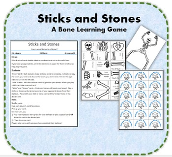 Sticks and Stones- A Skeleton Learning Game