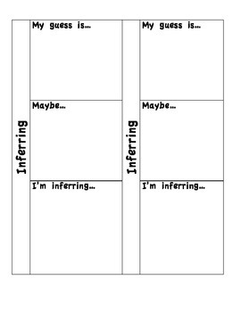Sticky Note Flip Charts *Comprehension* Common Core * Reading