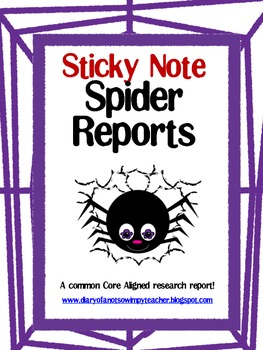 Sticky Note Spider Research Report