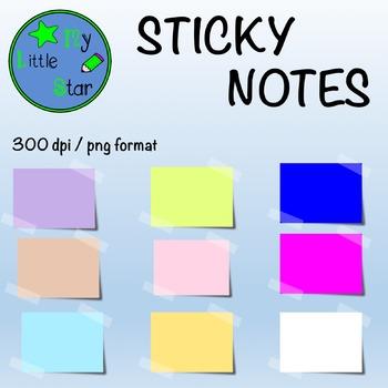 Sticky Notes : clipart