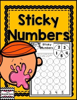 Sticky Numbers {FREEBIE}