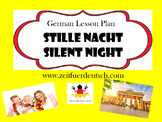 Stille Nacht - Silent Night. German Christmas Song, Lesson