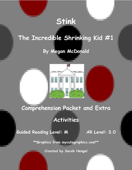 Stink: The Incredible Shrinking Kid #1 by Megan McDonald C