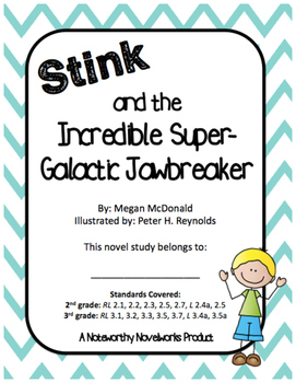 Stink and the Incredible Super-Galactic Jawbreaker Novel S