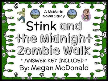 Stink and the Midnight Zombie Walk (Megan McDonald) Novel