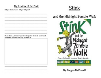 Stink and the Midnight Zombie Walk Read Along Guide
