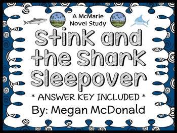 Stink and the Shark Sleepover (Megan McDonald) Novel Study