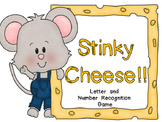 Stinky Cheese Game Cards for Letters, Numbers, and More!!