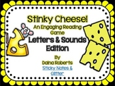 Stinky Cheese! Reading Game - Letters & Sounds Edition
