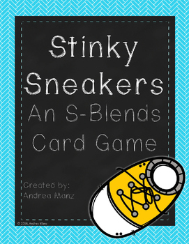 Stinky Sneakers: An S-Blends Freebie