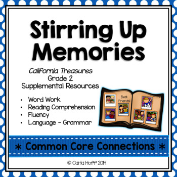 Stirring Up Memories - Common Core Connections - Treasures