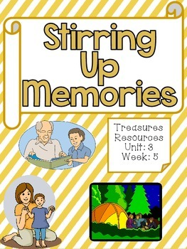 Stirring Up Memories  Focus Wall Treasures Common Core Alligned