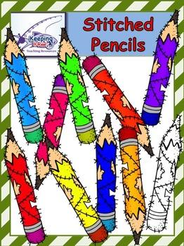 Stitched Pencils