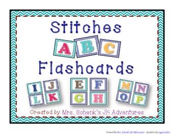 Stitches ABC Flashcards