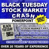 Stock Market Crash Lesson