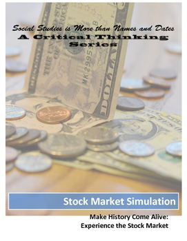 Stock Market Crash Simulation for Elementary and Middle Grades