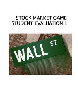 Stock Market Student Evaluation