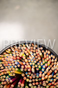 Stock Photo: Colored Pencils 2-Personal & Commercial Use