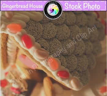 Stock Photo: Fairy Tale Gingerbread House