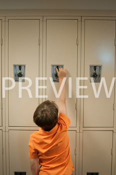 Stock Photo: Student Reaching Up -Personal & Commercial Use