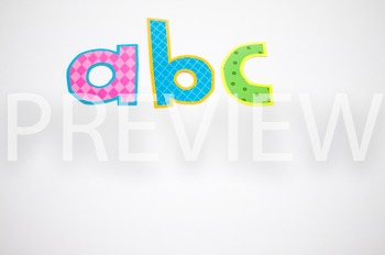 Stock Photo Styled Image: ABC #2 -Personal & Commercial Use