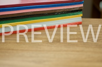 Stock Photo Styled Image: Colored Paper -Personal & Commer