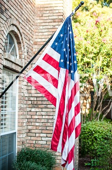 Stock Photo: American Flag #2-Personal & Commercial Use