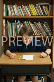 Stock Photo Styled Image: Excited/Proud Student-Personal &